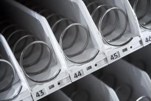 Automaat met verse dagproducten